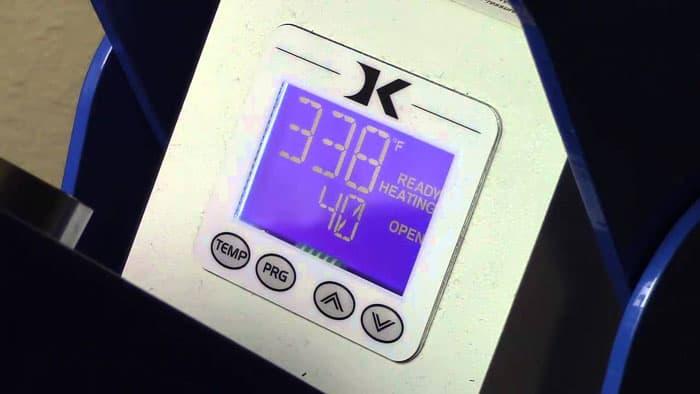 Heat Press Digital Timer