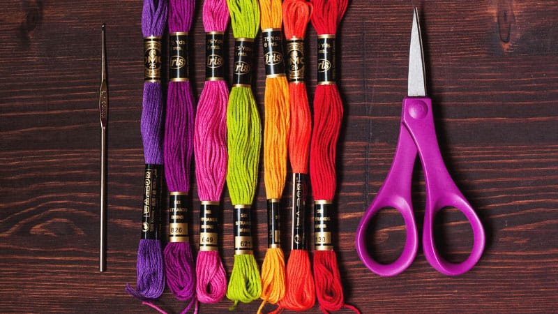 How to Keep Embroidery Floss from Tangling