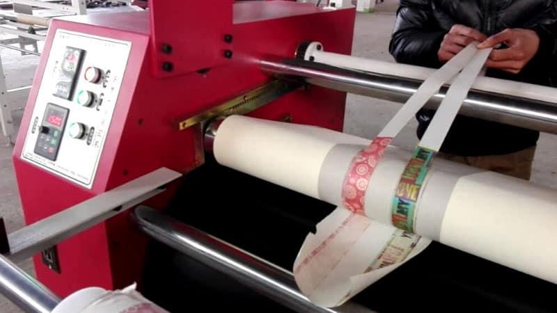 Maintain the Roller Heat Press Machine