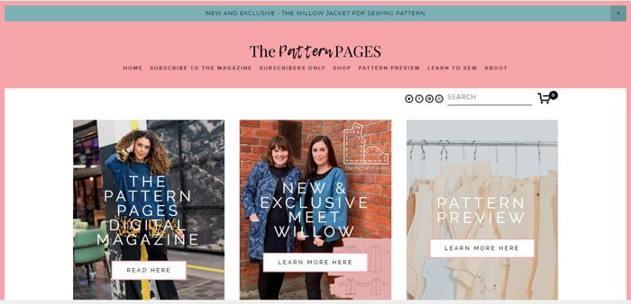 The Pattern Page