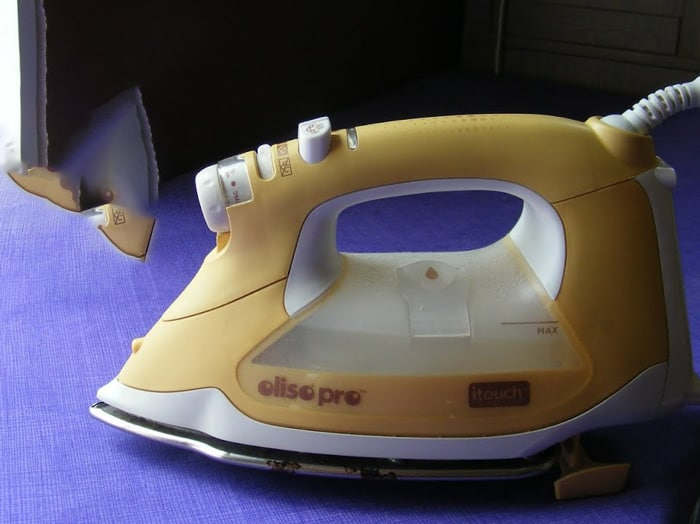 Using-a-household-iron