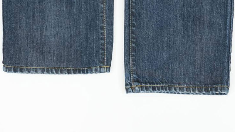How to Hem Jeans Pants with and without Sewing Machine