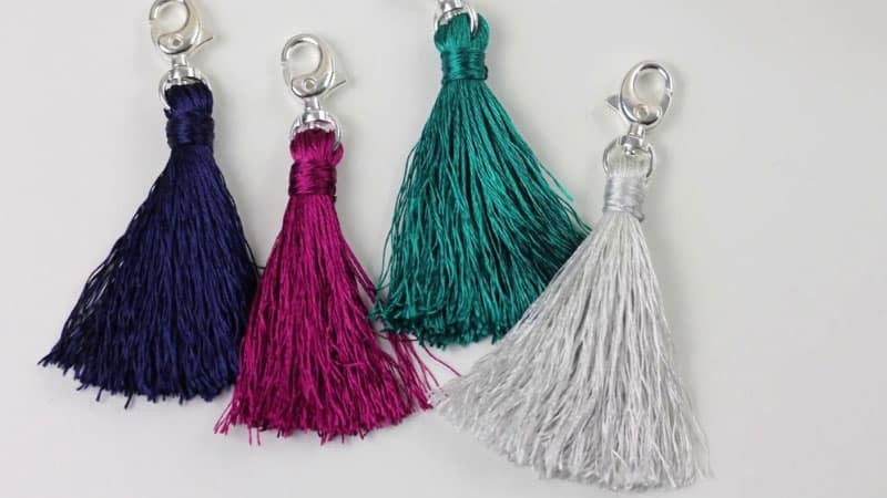How to Make Tassels with Embroidery Thread