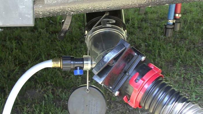 Auto-Sewer-Flush-Valve