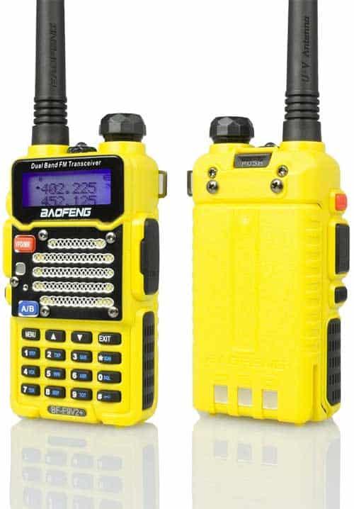 Baofeng Radio BFF9V2YELLOW Two-Way Radio