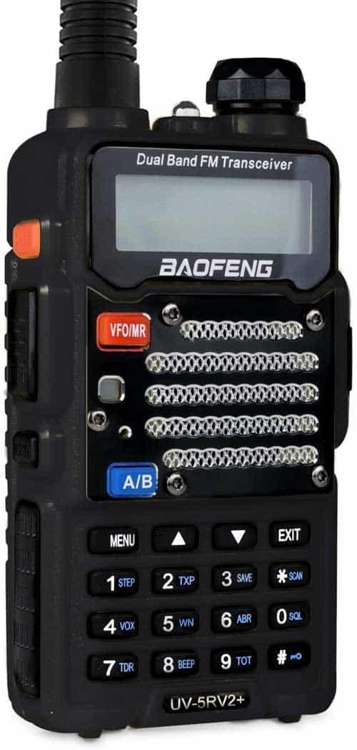 Baofeng UV-5R V2+ Two-Way Radio
