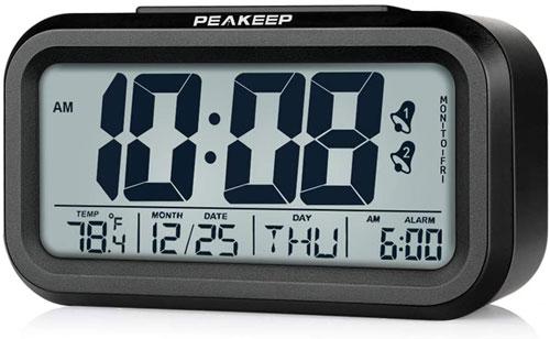 Peakeep Cordless Clock Radio