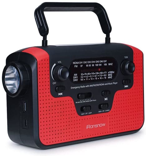 Real NOAA iRonsnow IS-388 SW Radio