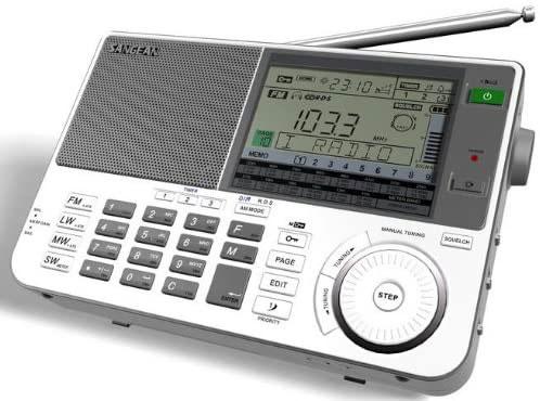 Sangean ATS-9009X BK Shortwave Radio