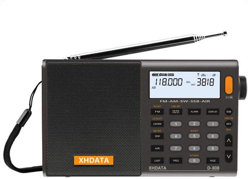 XHDATA D-808 Portable SW Radio