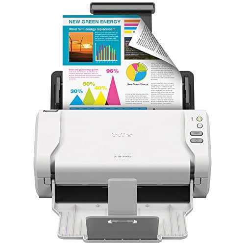 Brother High-Speed Desktop Document Scanner, ADS-2200