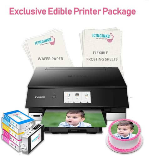 Exclusive Cake Printer Package from Icinginks