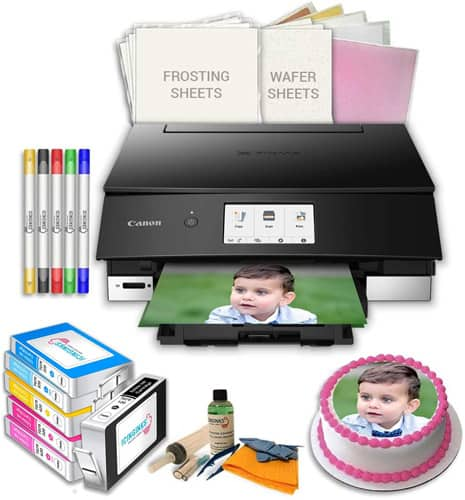 Icinginks Edible Images Printer Bundle with Canon LCD