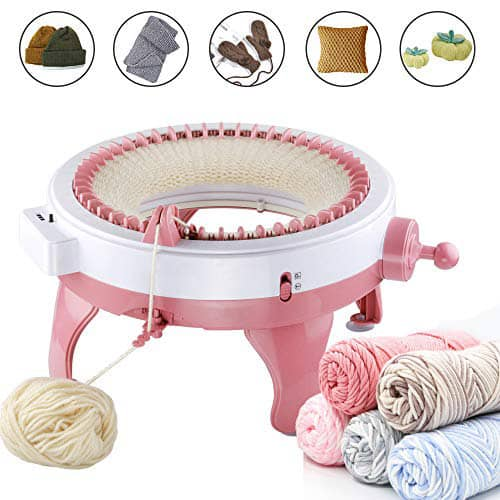 New Year and Christmas Rosymity Knitting Machine,Made by Plastic//No Odor//DIY Hands-on Knitting Machine//Easy to Use A Good Gift for Birthdays Thanksgiving
