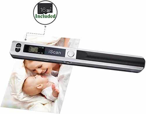 MUNBYN Magic Wand Portable Scanners for Documents