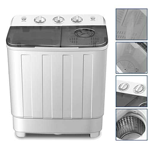 4-EVER Portable Twin Tub Washer and Dryer Combo
