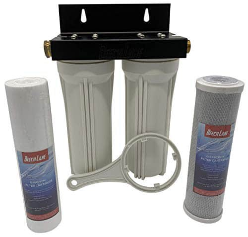 Beech Lane External RV Dual Water Filter System