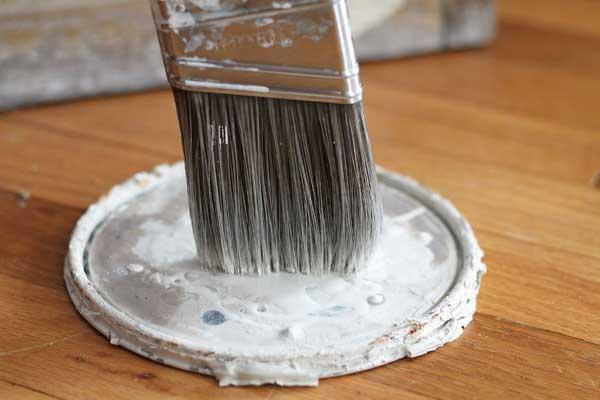 Brush Painting Method
