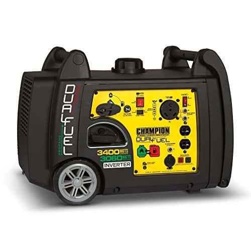 Champion 3400-Watt Dual Fuel