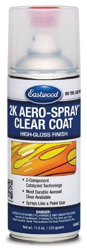 Eastwood Durable Paint 2K Aerosol High Gloss Clear Spray