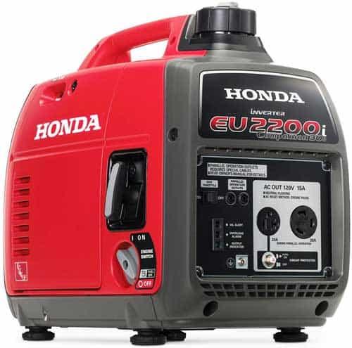 Honda EU2200IC 2200-Watt Companion Super Quiet Portable Inverter Generator