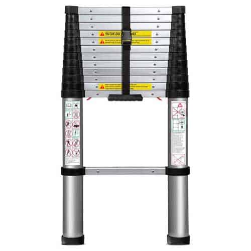 OxGord 12.5 FT Extension Telescopic Ladder