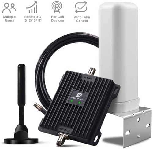 P PROUTONE Cell Phone Signal Booster for RV, Motorhome, Truck, Bus, Boat or Small House