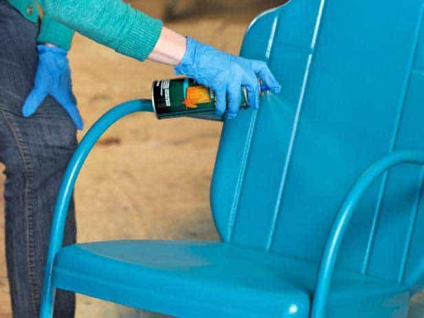 Spray Painting Method