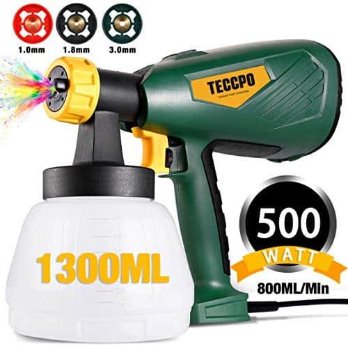 TECCPO 500 Watts HVLP Electric Spray Gun