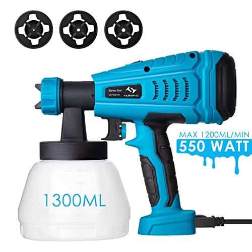 Tilswall 550 Watt HVLP Home Electric Spray Gun