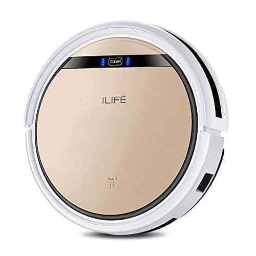 ilife v5s robot cleaner with Water Tank Mop