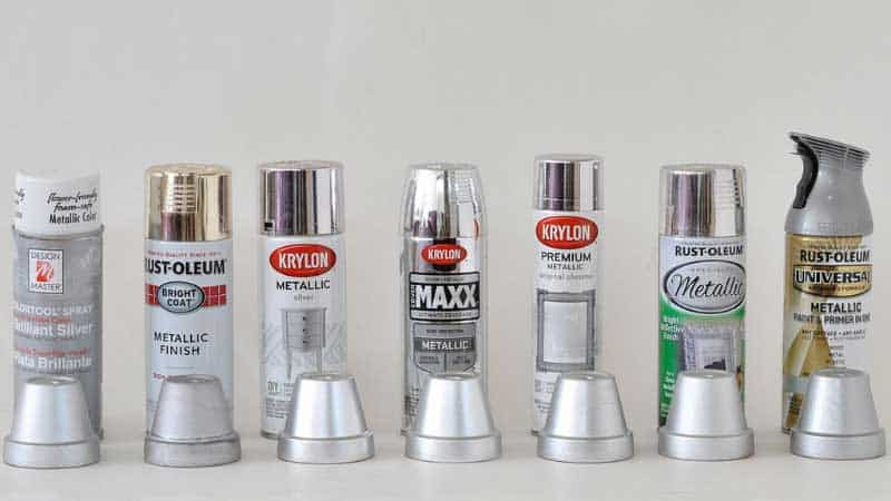 Best Metallic Silver Spray Paints