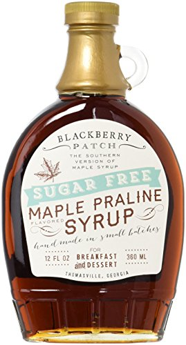 Blackberry Patch Maple Praline Flavored Sugar-Free Syrup