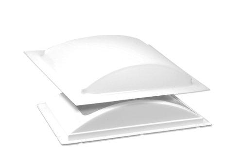 BriRus K1422WLP White Low Profile Single Pane Exterior Skylight Kit