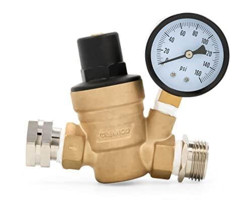 Camco 40058 Adjustable Brass Water Pressure Regulator
