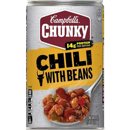 Campbell's Chunky Chili with Beans, 19 Oz. Can
