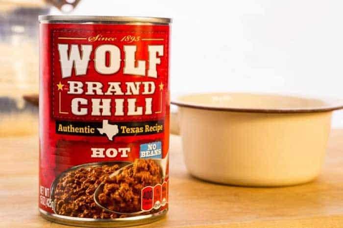Canned Hot Dog Chili