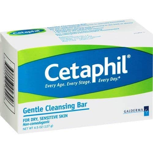 Cetaphil Gentle Cleansing Bar for Dry/Sensitive Skin