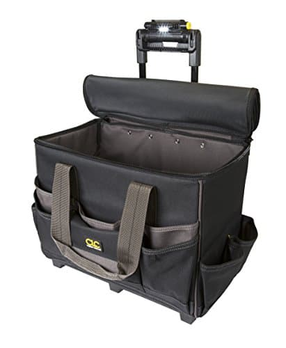 Custom Leathercraft L258 TechGear Rolling Tool Bag