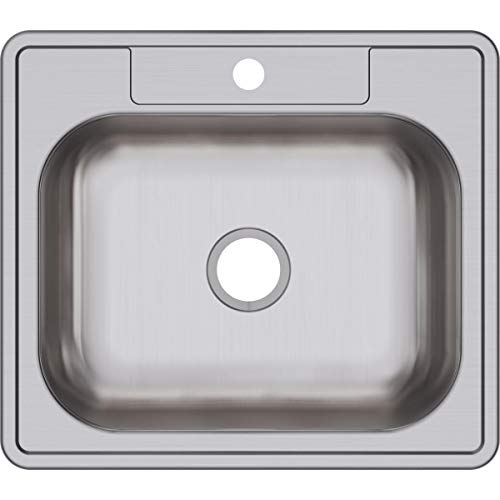 Dayton D125221 Single Bowl Drop-in Stainless Steel Sink