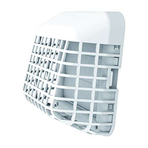 Deflecto Easy Clean Louvered Dryer Vent Cover with Bird Guard With 4 Inches Hood