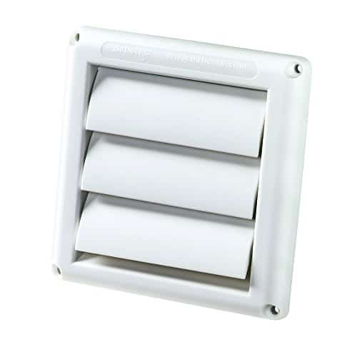 Deflecto Supurr-Vent Louvered Outdoor Dryer Vent Cover