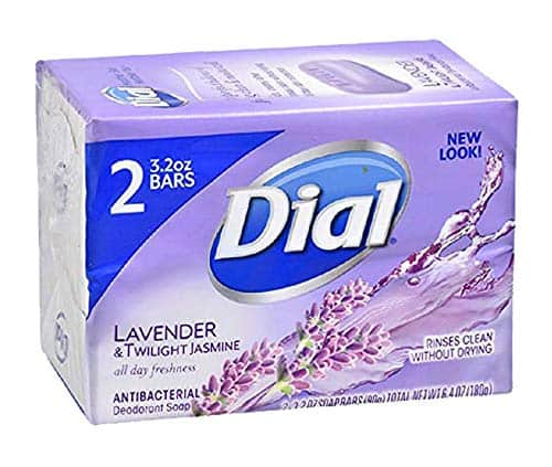 Dial Antibacterial Deodorant Soap Lavender & Twilight All Day Freshness