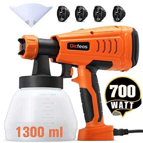 Dicfeos 700W High Power HVLP Home Spray Gun