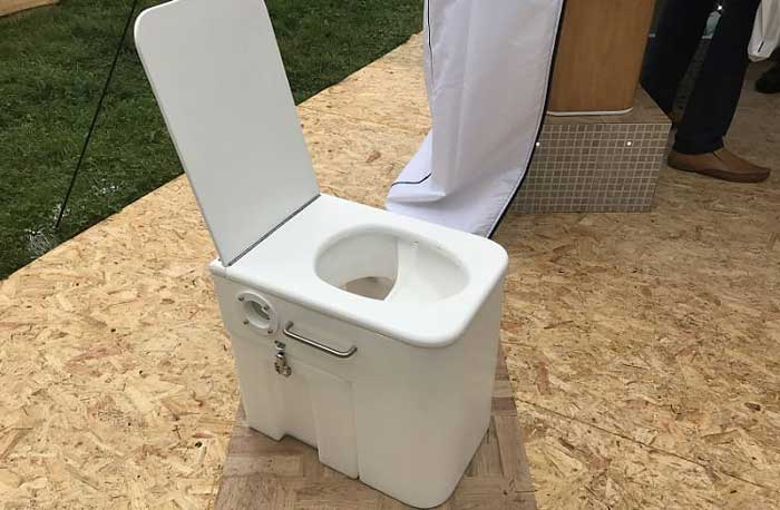 Dry Toilet for RV