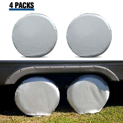 ELUTO Tire Covers For RV Wheel Covers Set Of 2