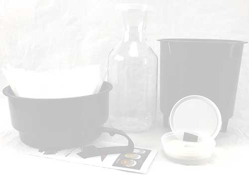 Filtron Cold Water Coffee Concentrate Brewer with Extra 2 Pack of Filter Pads