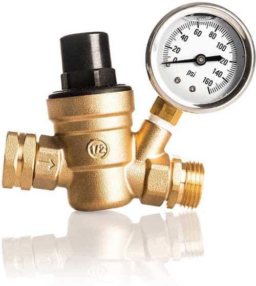 Kanbrook Adjustable RV Water Pressure Regulator