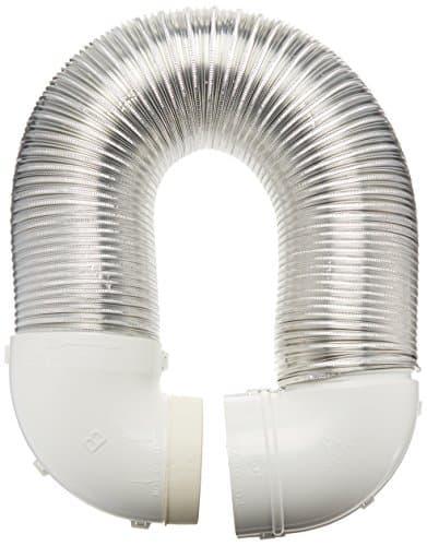 Lambro Industries 4004 Quick-Connect Flexible Aluminum Duct Dryer Vent Kit