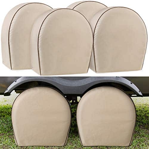 Leader Accessories 4-Pack Tire Covers 600D Oxford
